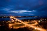 Вид на мост через р. Волгу