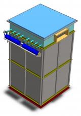 Фильтр напорный для бункеров и силосов