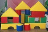 Детские мягкие строительные конструкторы